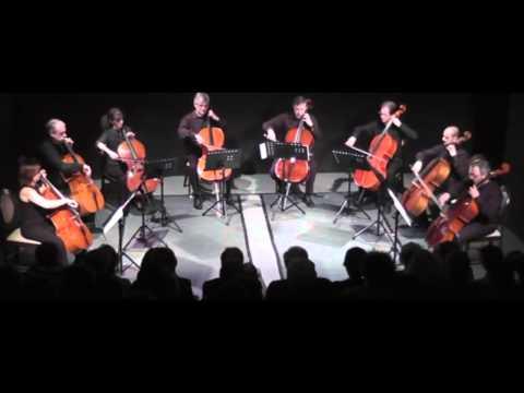 Alessio Murgia 8 variazioni per 8 violoncelli