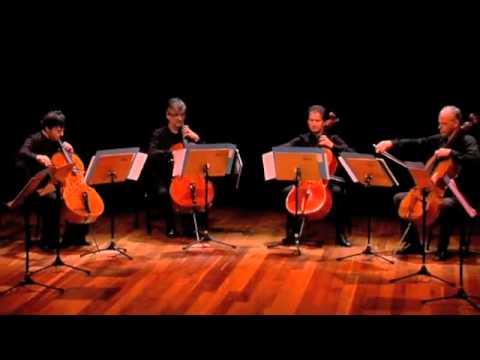 D. Popper - Polonaise en concert per 4 violoncelli